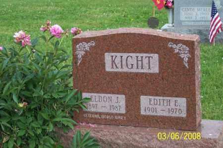 KIGHT, EDITH E. - Ross County, Ohio | EDITH E. KIGHT - Ohio Gravestone Photos
