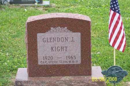 KIGHT, GLENDON J. - Ross County, Ohio   GLENDON J. KIGHT - Ohio Gravestone Photos