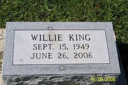 KING, WILLIE - Ross County, Ohio   WILLIE KING - Ohio Gravestone Photos