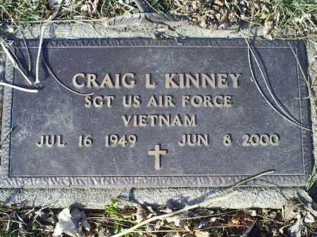 KINNEY, CRAIG L. - Ross County, Ohio | CRAIG L. KINNEY - Ohio Gravestone Photos