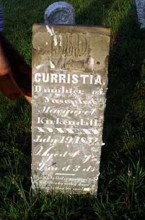 KIRKENDALL, CURRISTIA - Ross County, Ohio | CURRISTIA KIRKENDALL - Ohio Gravestone Photos
