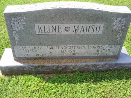 MARSH, FORREST ASBURY - Ross County, Ohio | FORREST ASBURY MARSH - Ohio Gravestone Photos
