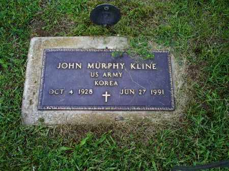 KLINE, JOHN MURPHY - Ross County, Ohio | JOHN MURPHY KLINE - Ohio Gravestone Photos