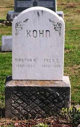 KOHN, MARTHA A. - Ross County, Ohio | MARTHA A. KOHN - Ohio Gravestone Photos
