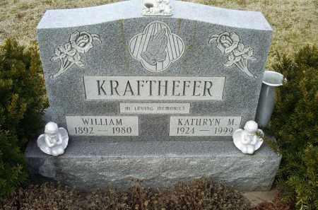KRAFTHEFER, WILLIAM - Ross County, Ohio | WILLIAM KRAFTHEFER - Ohio Gravestone Photos