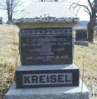 KREISEL, J. GEORGE - Ross County, Ohio | J. GEORGE KREISEL - Ohio Gravestone Photos