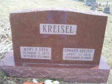 KREISEL, MARY E. - Ross County, Ohio | MARY E. KREISEL - Ohio Gravestone Photos