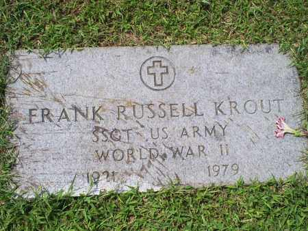 KROUT, FRANK RUSSELL - Ross County, Ohio | FRANK RUSSELL KROUT - Ohio Gravestone Photos
