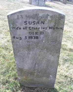 KUHN, SUSAN - Ross County, Ohio   SUSAN KUHN - Ohio Gravestone Photos