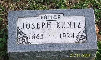KUNTZ, JOSEPH - Ross County, Ohio   JOSEPH KUNTZ - Ohio Gravestone Photos
