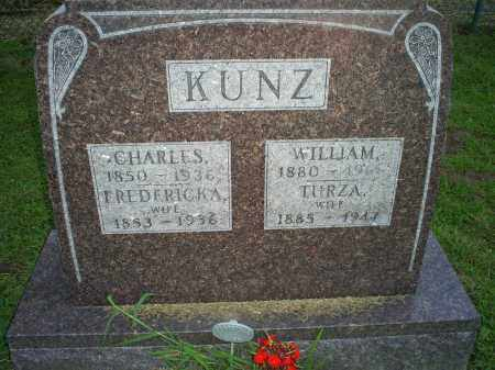 KUNZ, FREDERICKA - Ross County, Ohio | FREDERICKA KUNZ - Ohio Gravestone Photos