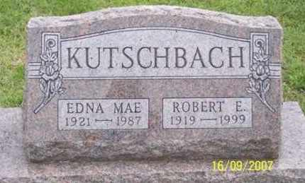 KUTSCHBACH, EDNA MAE - Ross County, Ohio   EDNA MAE KUTSCHBACH - Ohio Gravestone Photos
