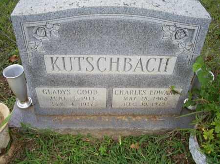 KUTSCHBACH, GLADYS - Ross County, Ohio | GLADYS KUTSCHBACH - Ohio Gravestone Photos