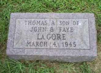 LAGORE, THOMAS A. - Ross County, Ohio | THOMAS A. LAGORE - Ohio Gravestone Photos