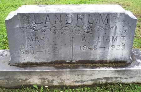 LANDRUM, MARY - Ross County, Ohio   MARY LANDRUM - Ohio Gravestone Photos