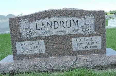 LANDRUM, COLLACE M. - Ross County, Ohio | COLLACE M. LANDRUM - Ohio Gravestone Photos