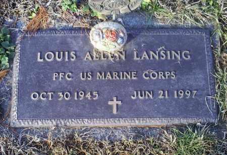 LANSING, LOUIS ALLEN - Ross County, Ohio | LOUIS ALLEN LANSING - Ohio Gravestone Photos