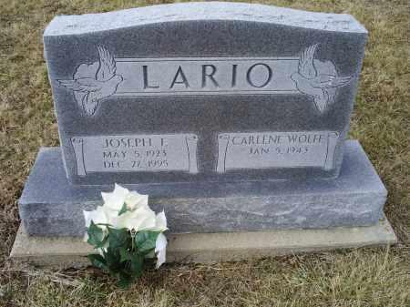 LARIO, JOSEPH E. - Ross County, Ohio | JOSEPH E. LARIO - Ohio Gravestone Photos