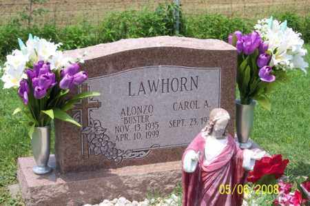 "LAWHORN, ALONZO ""BUSTER"" - Ross County, Ohio 