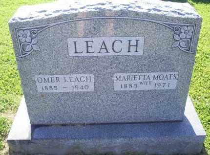 LEACH, MARIETTA - Ross County, Ohio | MARIETTA LEACH - Ohio Gravestone Photos