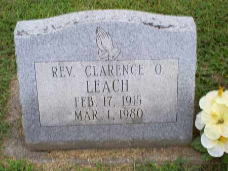 LEACH, REV. CLARENCE O. - Ross County, Ohio   REV. CLARENCE O. LEACH - Ohio Gravestone Photos