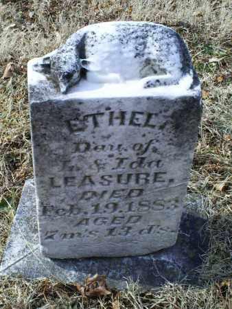 LEASURE, ETHEL - Ross County, Ohio | ETHEL LEASURE - Ohio Gravestone Photos