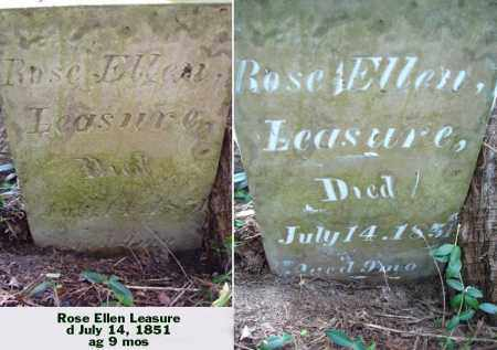 LEASURE, ROSE ELLEN - Ross County, Ohio | ROSE ELLEN LEASURE - Ohio Gravestone Photos