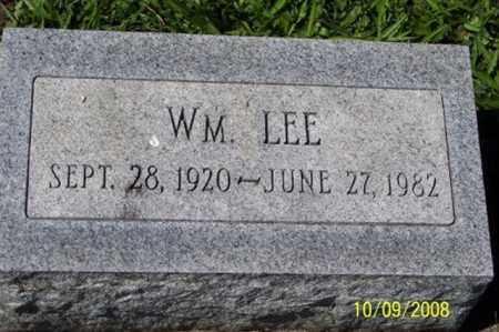 LEE, WM. - Ross County, Ohio | WM. LEE - Ohio Gravestone Photos