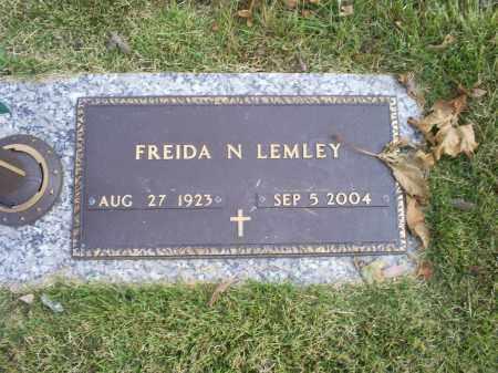 LEMLEY, FREIDA N. - Ross County, Ohio | FREIDA N. LEMLEY - Ohio Gravestone Photos