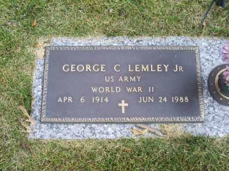 LEMLEY, GEORGE C. JR. - Ross County, Ohio | GEORGE C. JR. LEMLEY - Ohio Gravestone Photos
