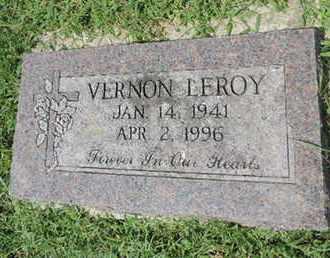 LEROY, VERNON - Ross County, Ohio | VERNON LEROY - Ohio Gravestone Photos