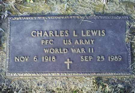 LEWIS, CHARLES L. - Ross County, Ohio | CHARLES L. LEWIS - Ohio Gravestone Photos