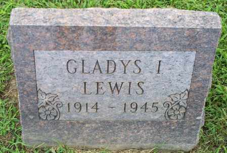 LEWIS, GLADYS I. - Ross County, Ohio | GLADYS I. LEWIS - Ohio Gravestone Photos