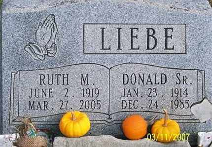 LIEBE, RUTH M. - Ross County, Ohio | RUTH M. LIEBE - Ohio Gravestone Photos