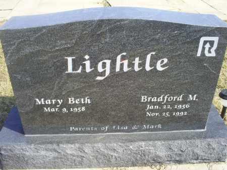 LIGHTLE, BRADFORD M. - Ross County, Ohio   BRADFORD M. LIGHTLE - Ohio Gravestone Photos
