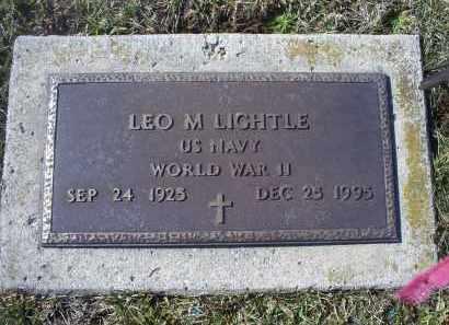 LIGHTLE, LEO M. - Ross County, Ohio | LEO M. LIGHTLE - Ohio Gravestone Photos