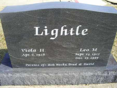 LIGHTLE, LEO M. - Ross County, Ohio | LEO M. LIGHTLE - Ohio Gravestone Photos
