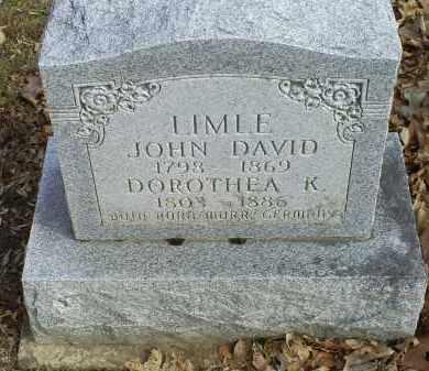 LIMLE, JOHN DAVID - Ross County, Ohio | JOHN DAVID LIMLE - Ohio Gravestone Photos
