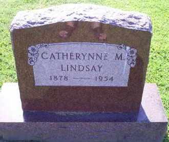 LINDSAY, CATHERYNNE M. - Ross County, Ohio   CATHERYNNE M. LINDSAY - Ohio Gravestone Photos
