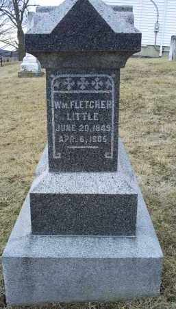 LITTLE, WM. FLETCHER - Ross County, Ohio   WM. FLETCHER LITTLE - Ohio Gravestone Photos