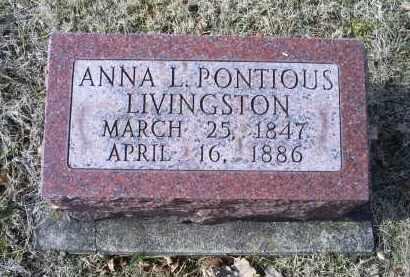 LIVINGSTON, ANNA L. - Ross County, Ohio | ANNA L. LIVINGSTON - Ohio Gravestone Photos