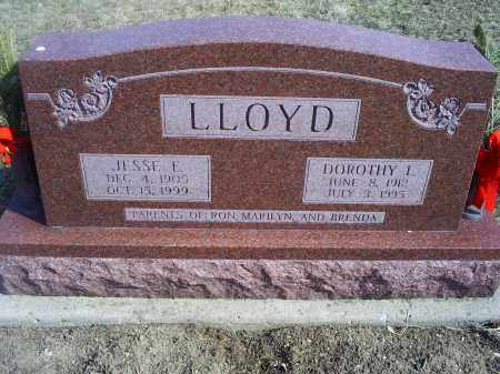 LLOYD, JESSE E. - Ross County, Ohio | JESSE E. LLOYD - Ohio Gravestone Photos