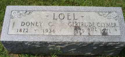 LOEL, GERTRUDE CLYMER - Ross County, Ohio | GERTRUDE CLYMER LOEL - Ohio Gravestone Photos