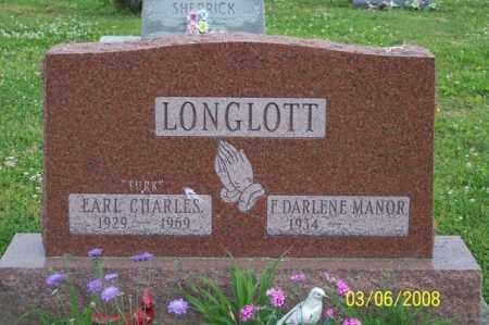 "LONGLOTT, EARL CHARLES ""TURK"" - Ross County, Ohio | EARL CHARLES ""TURK"" LONGLOTT - Ohio Gravestone Photos"