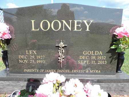 LOONEY, LEX - Ross County, Ohio | LEX LOONEY - Ohio Gravestone Photos