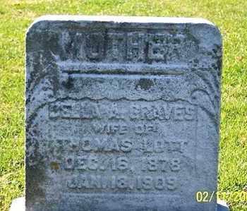 LOTT, BELLA A. - Ross County, Ohio   BELLA A. LOTT - Ohio Gravestone Photos