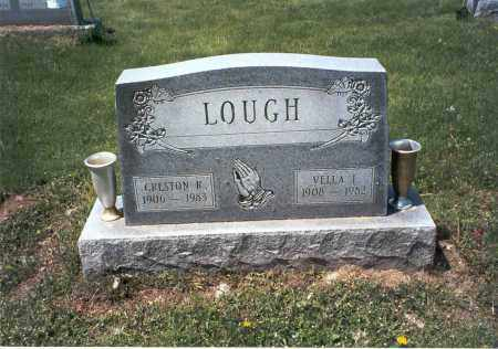 LOUGH, VELLA I. - Ross County, Ohio | VELLA I. LOUGH - Ohio Gravestone Photos