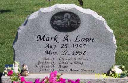 LOWE, MARK A. - Ross County, Ohio | MARK A. LOWE - Ohio Gravestone Photos