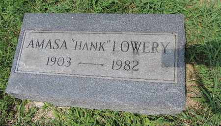 LOWERY, AMASA - Ross County, Ohio   AMASA LOWERY - Ohio Gravestone Photos