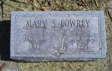 LOWREY, MARY S. - Ross County, Ohio | MARY S. LOWREY - Ohio Gravestone Photos